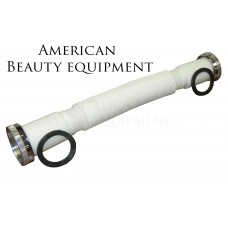 0175 Flexible Hose For Shampoo Sidewash and Backwash Systems To Allow Bowls To Tilt in Hair Salons
