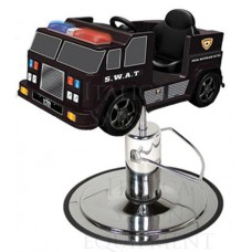 SWAT Police Kids Styling Chair With Choice of Base