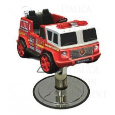 Italica Red 2 Seat Fire Truck Hair Styling Car With Your Choice of Base