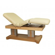 11390 Atlas Biologica Bamboo Wood Dual Pedestal Massage Table Choose Color Please