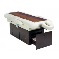 14550 Sanya Power Tilt Massage Spa Treatment Table Wenge Color Base -Choose Top Color