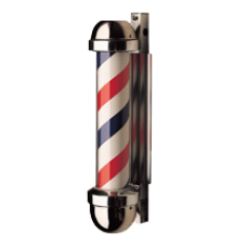 Model 333NR NON-REVOLVING Barber Pole
