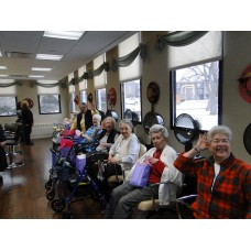 Curly Q Salon-Little Sisters of The Poor Palatine-Remodel 2016