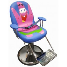Bubble Gum Boy Hair Styling Chair With Seat Belt and Extended Height Base For Hair Salons