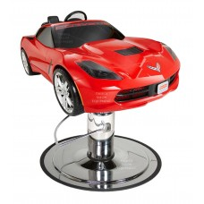 Red Corvette Stingray Styling Chair