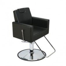 Paragon 1519 Piazza Reclining All Purpose Salon Chair Black Only