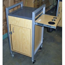 GREAT DEAL!-Granite Topped Beauty School Station Used In Good Condition Made By Collins