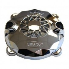 Jet Cover for Durajet III with Gasket Chrome