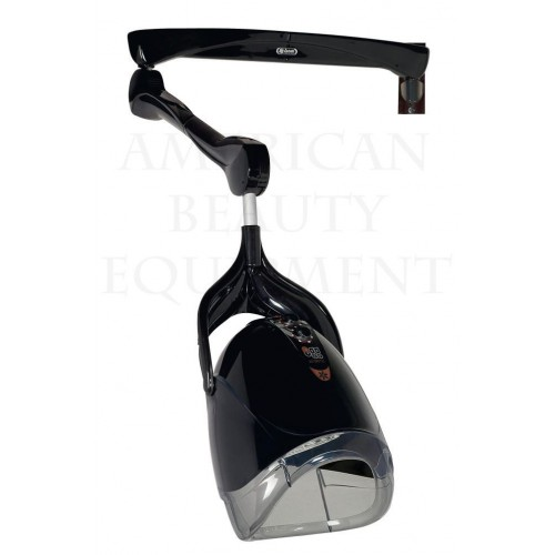 FREE SHIP 1 Speed Wall Hung Ceriotti 13342 Salon Hair Dryer In Black Made In Italy