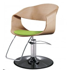 Takara Belmont ST-M40 Curved Art Wood Styling Chair Choose Base Style, Footrest and Colors Please