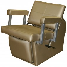 6750L Quarta Shampoo Chair From Collins With Locking Leg Rest & 135 Chair Colors