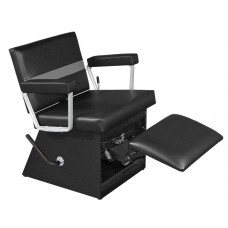 9850L Taress Shampoo Chair By Collins With Locking Lever Leg Rest & Choice of 135 Chair Colors