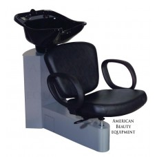 PA54 Pacific Shampoo Side or Backwash Unit From Belvedere USA With Tilting Porcelain Bowl