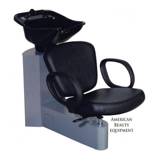 Belvedere PA54 Pacific Shampoo Side or Backwash Unit USA With Tilting Porcelain Bowl