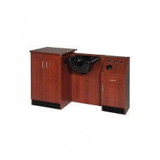 Belvedere SL43B-E LTD Shampoo Wet Booth Unit Top Grade Salon Cabinets
