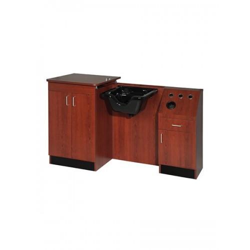 Belvedere SL43B-E LTD Shampoo Wet Booth Unit Top Grade Salon Cabinets