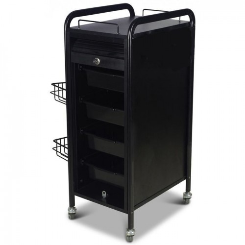 Italica NT045 Black Rolling Station Great For Salon Suites