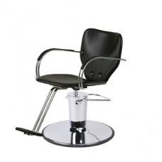 6672 Ardon Black Hair Styling Chair From Paragon Choose Chair Base Please