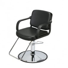 6677 Bene Black Hair Styling Chair From Paragon Choose Chair Base Please
