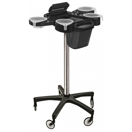 TOTALLY Great Deal- FROM ITALY- Service Plus Hair Coloring Trolley With Foiler & Trash Can Large Wheels From Ceriotti