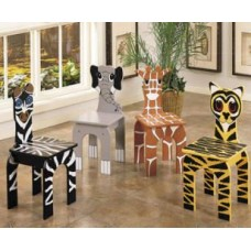 Zoo Animals Kids Chairs Great For Being At Home And Anything Else