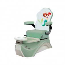 Free Shipping Little Mermaid Children's Pedicure Foot Spa With Pipeless and Safe For Kids To Get Pedicures