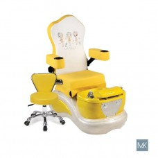 Free Shipping Yellow Friends Kid Pedicure Foot Spa With Pipeless and Free Shipping Plus Safe For Kids To Get Pedicures