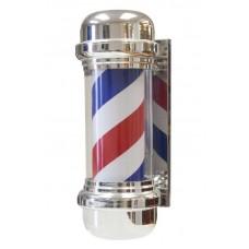 Model 148 Barber Pole Light Revoving Indoor or Under Awning Use Striped Barber Pole