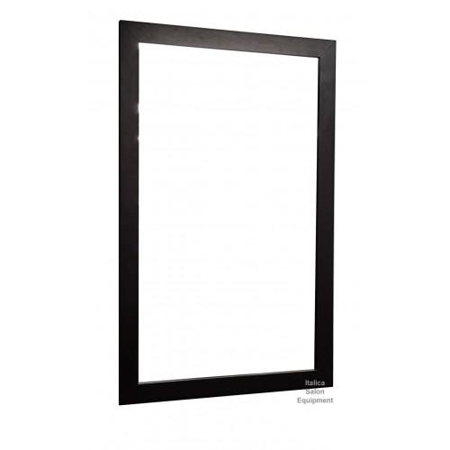 Italica Dark Chocolate BM27 30 Inch Wide X 48 Inch High Framed Salon Mirror