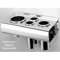 Pibbs 473 Stainless Steel Wall or Cabinet Mount Styling Tool Holder Best Quality Stainless Steel