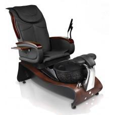 La Plumeria No Plumbing Pedicure Spa With Removable Bowl and Jet Plus Shiatsu Chair Top