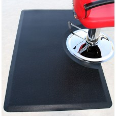 "3X5 Comfort Craft 3/4"" Thick Black Rectangular Anti Fatigue Salon Cutting Mat"