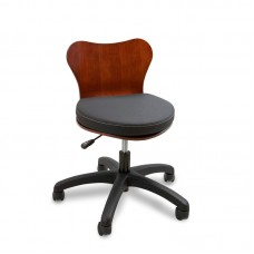 Continuum Deluxe Wood Back Technician Chair Choose Color Please
