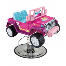Barbie Jeep Styling Chair For Hair Salons and Barber Shops From ITALICA