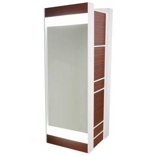 Collins 6625-32 Edge Formula Back To Back Styling Station With Back Lit Mirrors