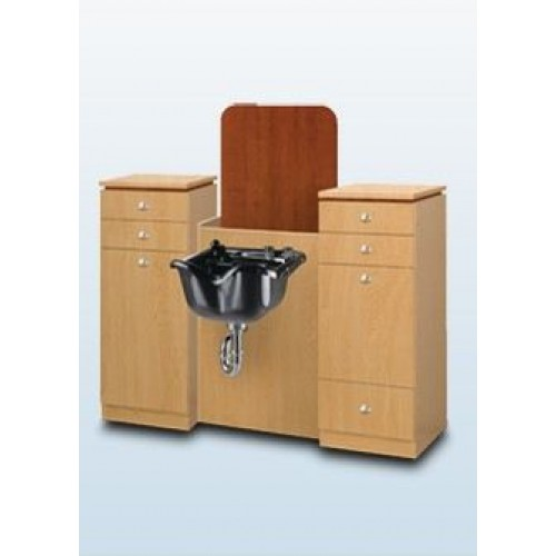 TAK-SL225/200/250 Takara Belmont Koken Get It Fast Wet Booth Unit Shampoo Cabinet