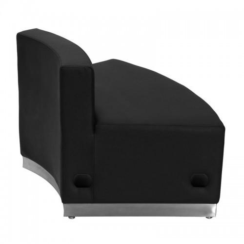 Free Shipping 803 Angle Out-seat Piece Reception Single Sofa Black