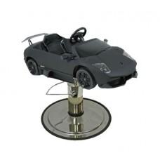 "Black Lamborghini Murciealgo Kids Styling Chair Sports Car With 27"" USA Made Base"
