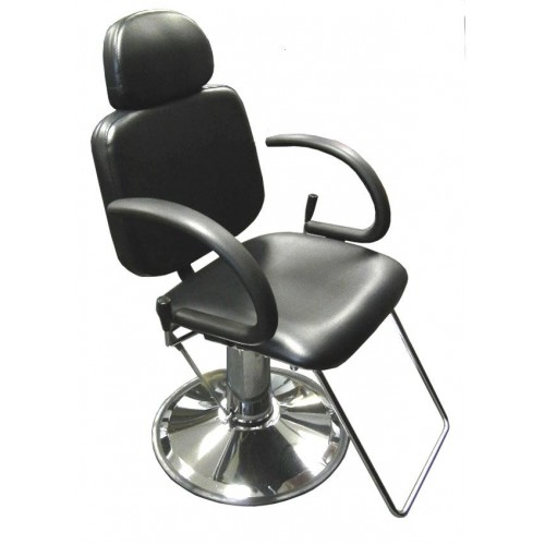 6763AP Reclining All Purpose Hair Styling or Eye Brow Threading Chair With Headrest