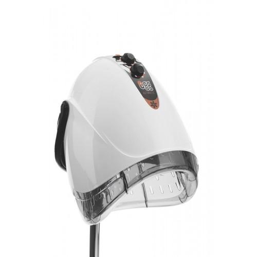 Italian EGG Black or White Italian Hair Dryer With Adjustable Base