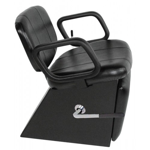3750L Lever Shampoo Chair From Collins With Locking Leg Rest USA Made