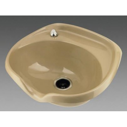 2000 Deep Wide Shampoo Bowl With Dial Flo Faucet Set By Marble Products Cultured Marble Shampoo Bowls