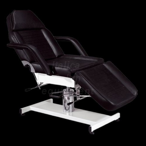 2501B Black Hydraulic Treatment, Tattooing  or Waxing Bed