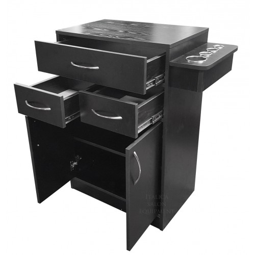 Italica 6067 Salon Storage or Styling Station With Optional Tool Panel