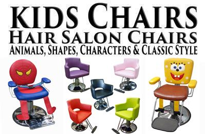 Hair Styling Chair Jeeps Cars Airplanes For Children Including Cartoon Characters Chairs Animals Styling Chairs Plus Pedicure Spas For Children All In One Place Styling Stations Also Available